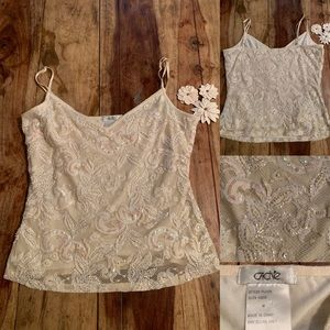 Blingy Boujee Cache camisole sparkles included!